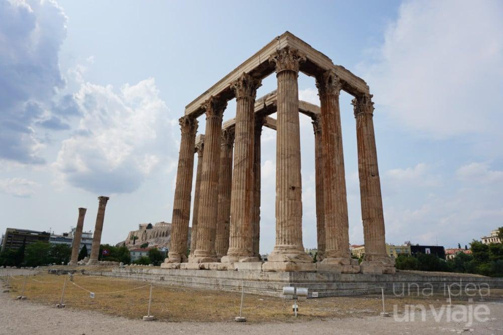 Un día en Atenas: Templo de Zeus