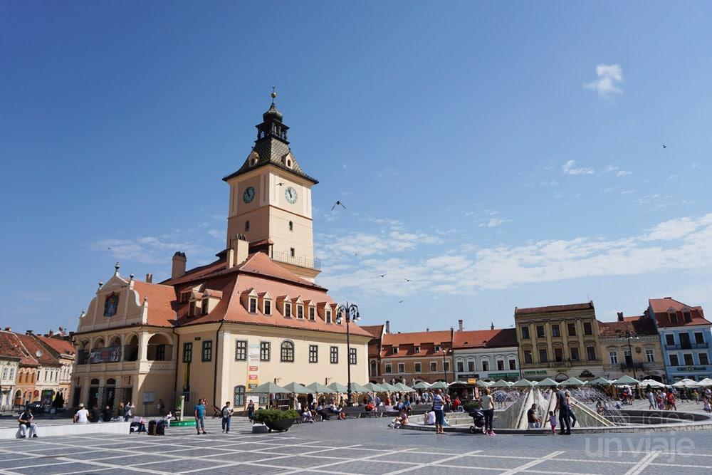 Qué ver en Brasov: Piata Sfatului