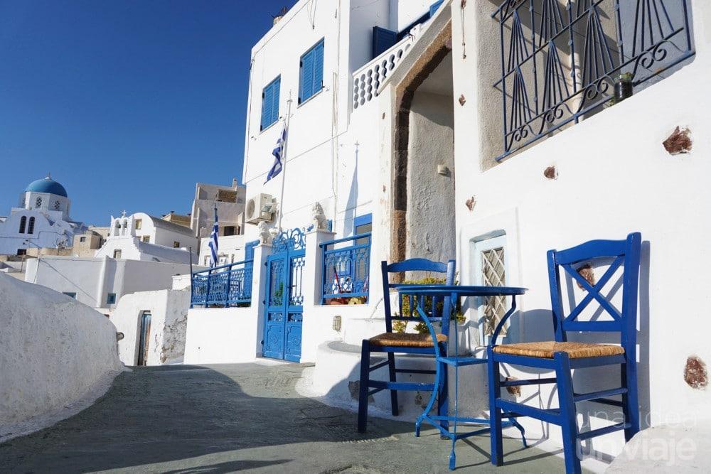 Santorini en tres días: Pyrgos, Santorini