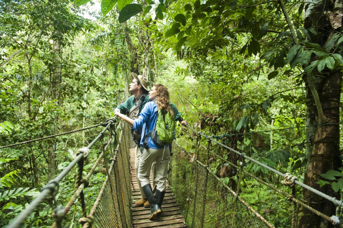 Senderismo por el Amazonas